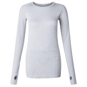 Lululemon Restless Pullover in Silver Spoon gray